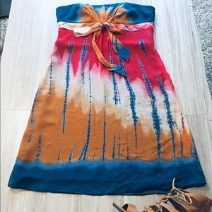BCBG  Strapless Empire Dress NWT